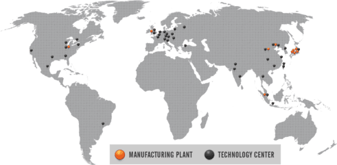 Welcome To Mazak Corporation - Map of us auto manufacturers